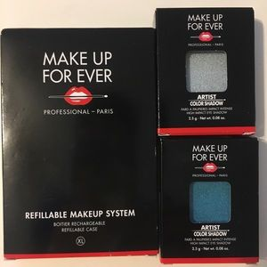 Make Up For Ever Eyeshadow Singles and Pan